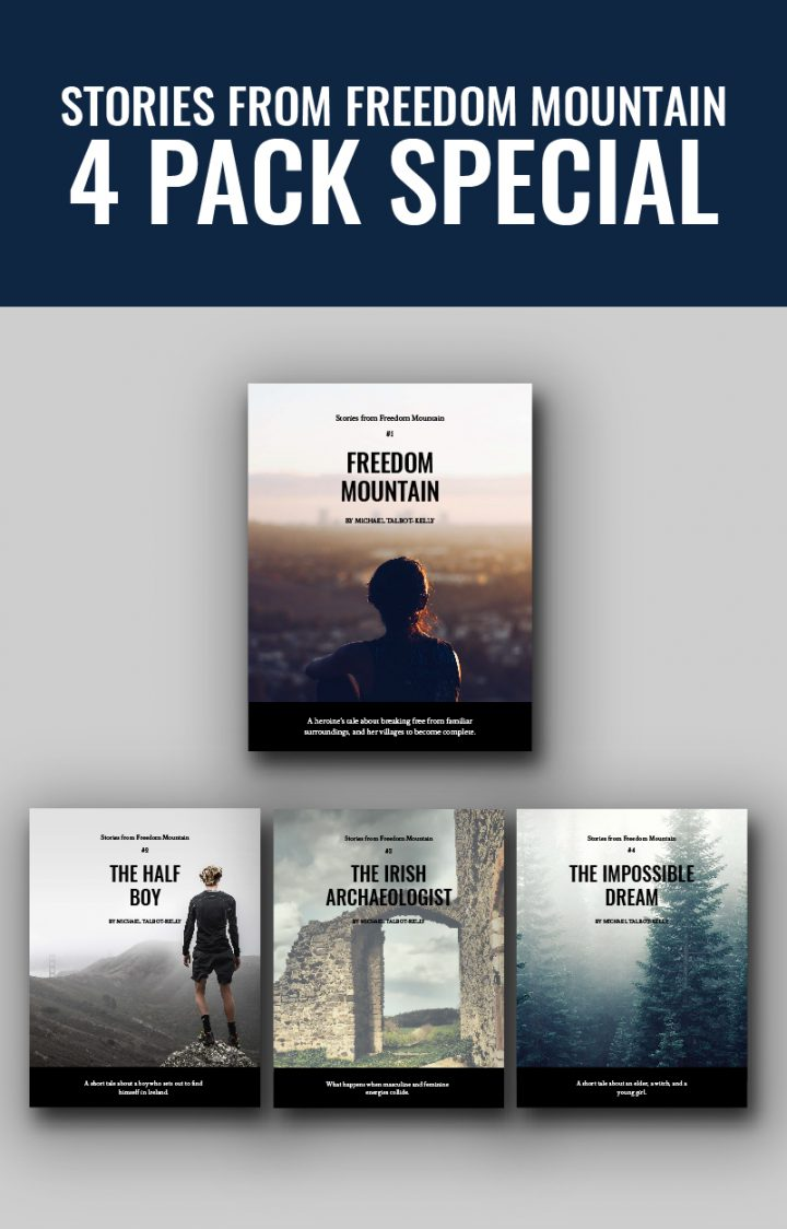 Michael Talbot Kelly Stories from Freedom Mountain 4 Pack